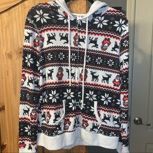 Unworn Christmas Santa hoodie